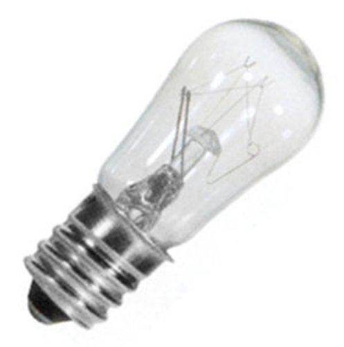 - 25 Qty. Halco 6W S6 CL Candelabra 145V Halco S6CL6/145V 6w 145v Incandescent Clear Lamp Bulb