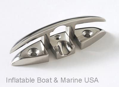 """4 1//2/"""" FOLDING CLEAT Mount Accon Boat Hardware Stainless Steel 316 grade"""