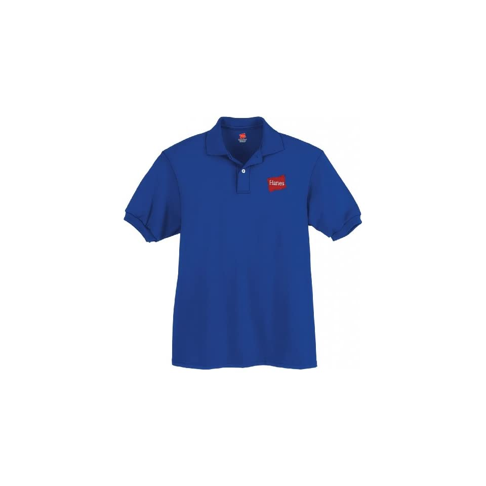 Hanes 5.2 oz Youth Blended Jersey Polo # 054Y Clothing