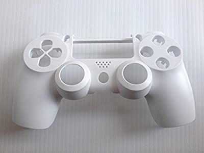 White Matte Front Replacement Housing Shell Case Cover Compatible for PlayStation PS 4 PS4 Controller DualShock 4 from Huizhou City Junsi Electronics Co., Ltd.