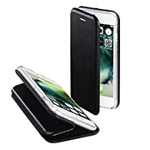 "Hama Curve Funda para teléfono móvil 11,9 cm (4.7"") Folio Negro - Fundas para teléfonos móviles (Folio, Apple, iPhone 7, 11,9 cm (4.7""), Negro)"