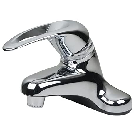 Gentil Single Handle RV Mobile Home Bathroom Sink Faucet   Chrome
