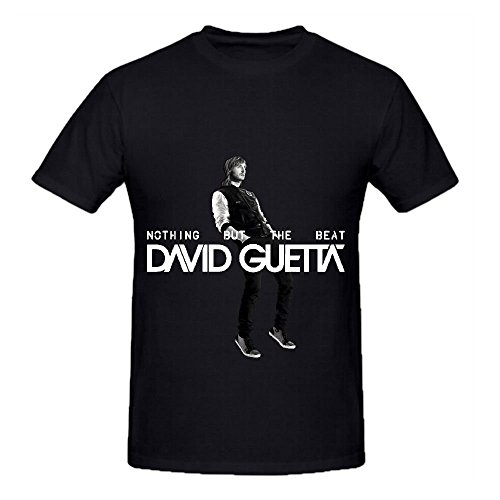 David Guetta Nothing But The Beat Tour Rock Mens O Neck Big Tall Shirts - Outlets Waikiki In