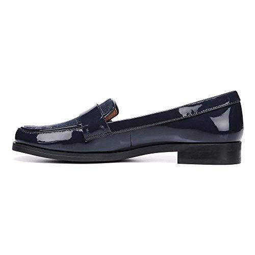 Franco Sarto Damen Valera Slip-On Loafer Navy Polyurethan / Stoff