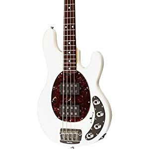 ernie ball music man stingray slo special 4 string hh electric bass white rosewood. Black Bedroom Furniture Sets. Home Design Ideas