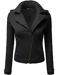 Women's Fleece Zip-Up High Neck Jacket