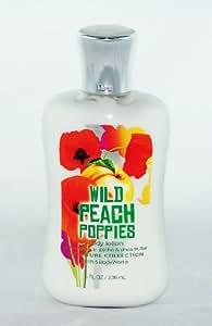 Bath & Body Works Wild Peach Poppies Body Lotion 8 Oz