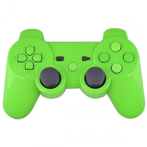 Mod Freakz Shell/button Kit Gloss Collection Green (NOT A CONTROLLER, For PS3 Controllers)