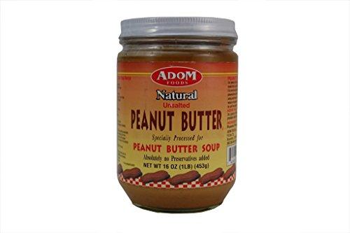 Adom Natural Peanut Butter Soup - 5 bottles - $12.12 per bottles