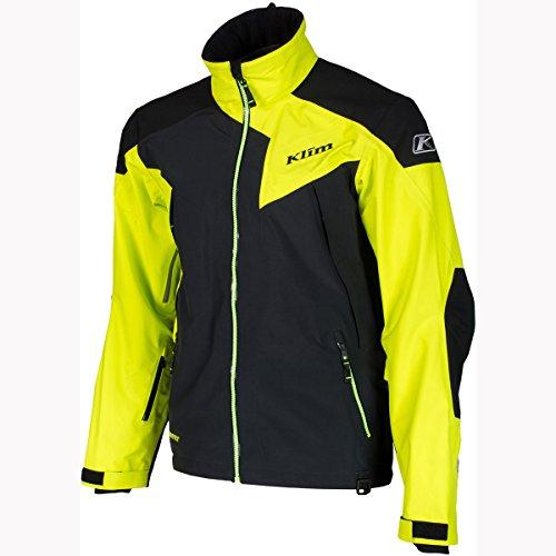 - Klim Stealth Men's Ski Snowmobile Jacket - Green/X-Large
