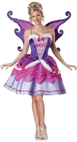 Sugar Plum Fairy Dance Costume (InCharacter Costumes Women's Sugarplum Fairy Costume, Purple, X-Large)