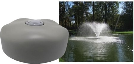 EasyPro Pond Products Fountain Head Wide Umbrella Nozzle with 24'' Float by EasyPro Pond Products