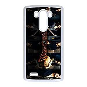 LG G3 Cell Phone Case Covers White Helloween Ftuq