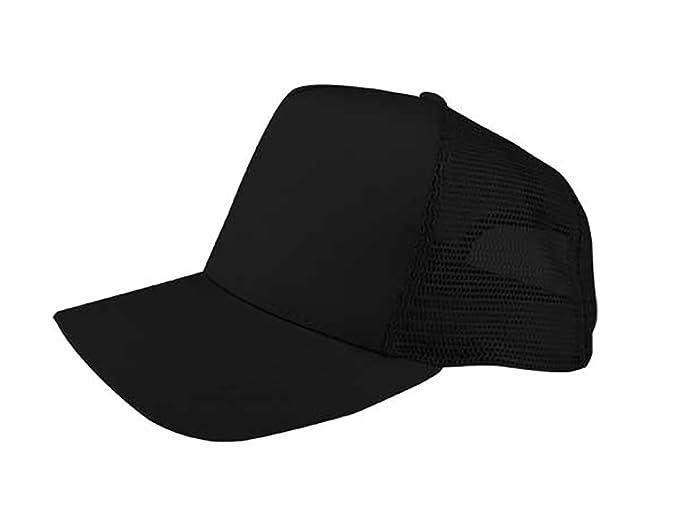 936946c2920647 TOP HEADWEAR Twill Mesh Trucker Cap - Black at Amazon Men's Clothing ...