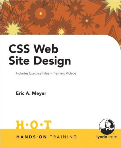 CSS Web Site Design Hands on Training by Peachpit Press