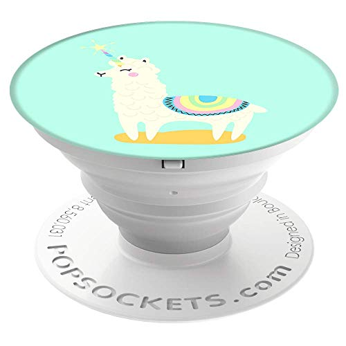 PopSockets: Collapsible Grip and Stand for Phones and Tablets - Llamacorn