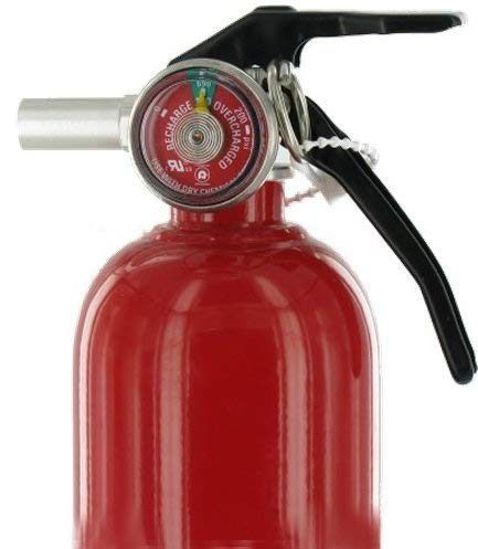First Alert MNJDHCHG HOME1 ABC 2.5 Pound Rechargeable Fire Extinguisher-HOME1-1-A:10-B:C-10-Year Warranty 3 Pack by First Alert (Image #2)