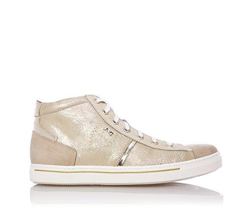 a6a95a034692 NERO GIARDINI - Beige Sneakers mit Schnürsenkel