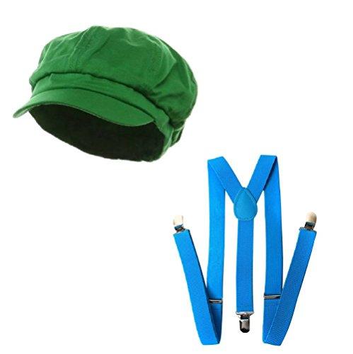 Super Italian Plumber Friends Attire Combo Kit, Green