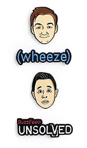 BuzzFeed Unsolved Pin Pack