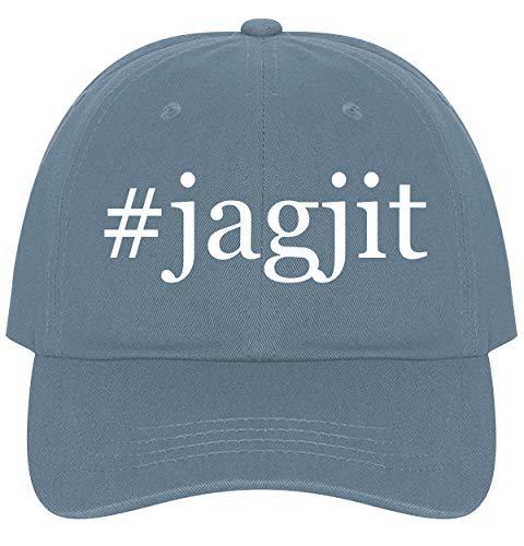 The Town Butler #Jagjit - A Nice Comfortable Adjustable Hashtag Dad Hat Cap, Light Blue (Mirza Ghalib Best Ghazals)