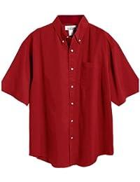 Men's 60/40 Mentor Easy Care Twill Woven Shirt (7 colors, S-6XLT)