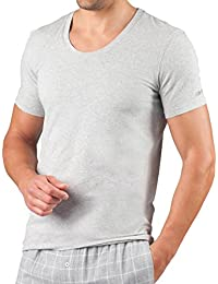 "<span class=""a-offscreen"">[Sponsored]</span>Mens Essential Cotton Stretch Lounge Crew Neck Tee Shirt"