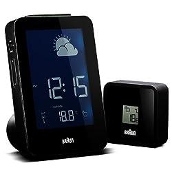 Braun Wall Clocks Weather Stations 660381_BNC013