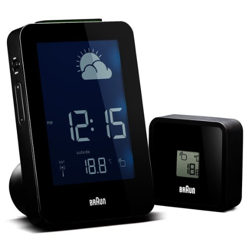 Braun Wall Clocks Weather Stations 660381_BNC013