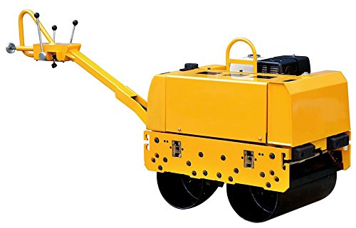 Vibratory Roller Double Cilinder 1,300 lbs with Lifan Engine 13 HP