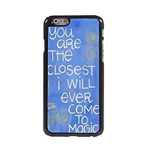 HaleyL-You Are The Closest Design Aluminum Hard Case for iPhone 6