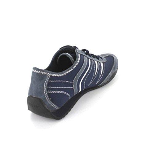 ESPRIT 026EK1W008 015 - Zapatos de cordones de Material Sintético para mujer Negro negro Azul - 400°navy