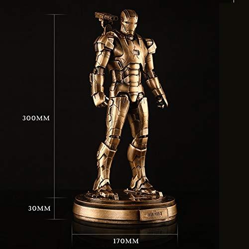 RUNWEI Avengers Iron Man muñeca Juguete muñeca Mano Modelo ...