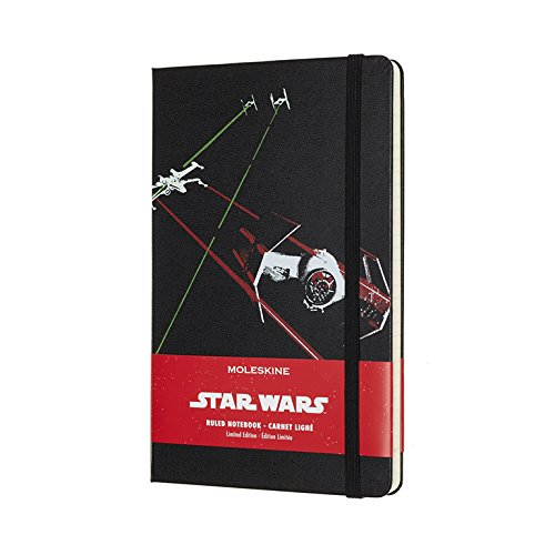 Moleskine Limited Edition Star Wars, Large, Ruled, Ships,...