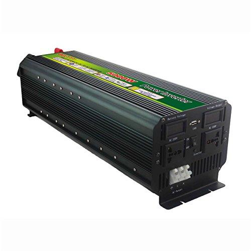 Electrical Equipment & Supplies - Power Inverter - 5000W 12V/24V to 220V Converter Power Inverter LCD Display 10000W Peak - (Voltage: DC12V)