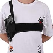 Shoulder Gun Holster, Universal Chest Holster Vest for Concealed Carry, Deep Concealment Elastic Neoprene Unde