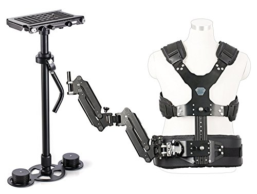Movo VS1000PRO Handheld Video Stabilizer System Bundle with
