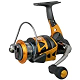Okuma Trio High Speed Spinning Reel, Blk/Orange, Trio-30S, Outdoor Stuffs