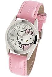 Hello Kitty Women's HK1741 Analogue Pink Strap Watch