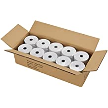 """Thermal Receipt Paper, 3-1/8"""" x 230', Cash Register Roll POS Paper,White,10 Rolls Total"""