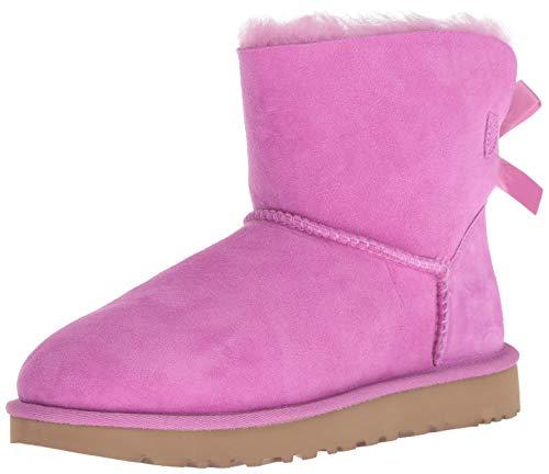 Pink Uggs - UGG Women's W Mini Bailey Bow II Fashion Boot Bodacious 9 M US