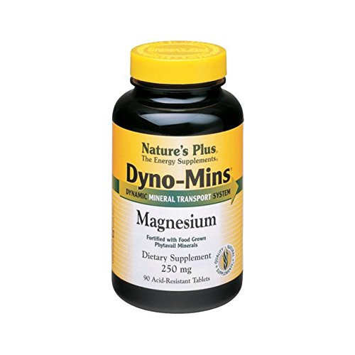 Nature's Plus Dyno-Mins Magnesium -- 250 mg - 90 Tablets