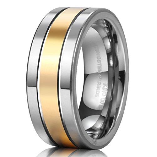 King Will Tungsten Wedding Polished