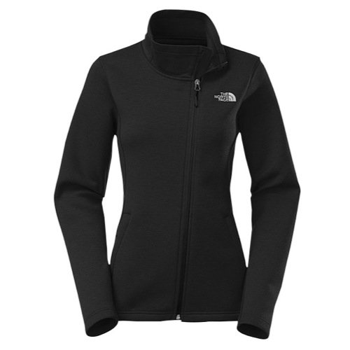 The North Face Womens Moto Jacket Apparel - The North Face Women's Haldee Jacket - TNF Black Heather, MD