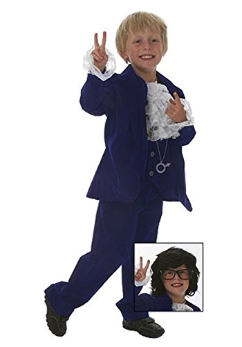 [Fun Costumes ' Deluxe 60's Swinger Costume Medium] (Secret Agent Halloween Costume For Kids)