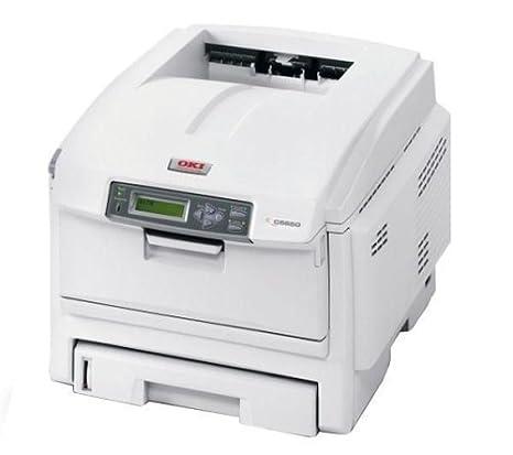 OKI C5650N - Impresora láser (32 ppm, A4), Blanco: Amazon.es ...