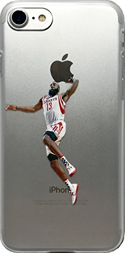 ECHC Favorite Basketball Player Hard Plastic iPhone Case (Harden Dunk, iPhone (Hard Basketball)