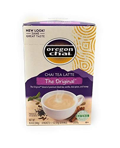 (Oregon Chai Original Tea Latte Mix, 8 ct)