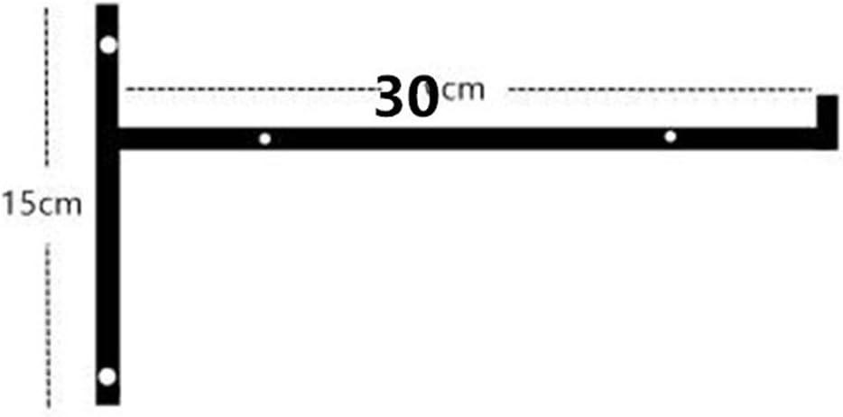 Pared Colgante Muebles Conector Industrial Decorativo,10Pcs,15 GFYWZ Soporte De Estante De Hierro En Forma De L /Ángulo Recto Pared Esquina Colgante Herramienta De Apoyo 20Cm