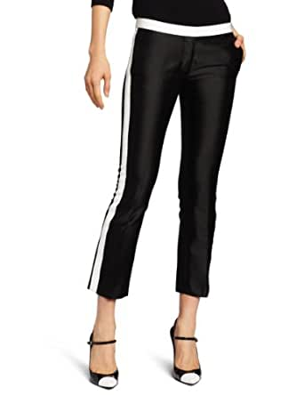 camilla and marc Women's Lost Girl Trouser, Black/Ivory, 2